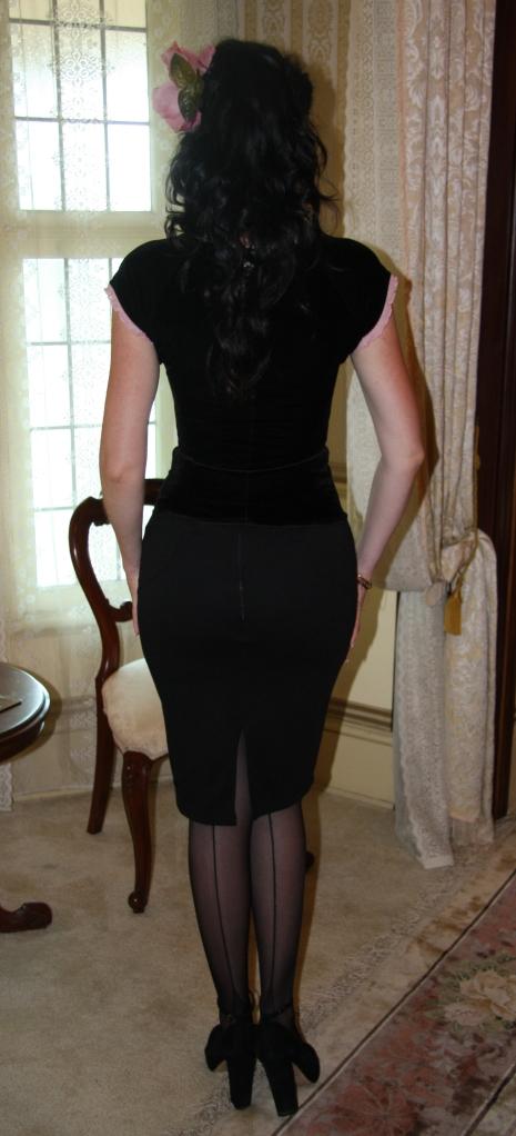 Black Velvet - Back