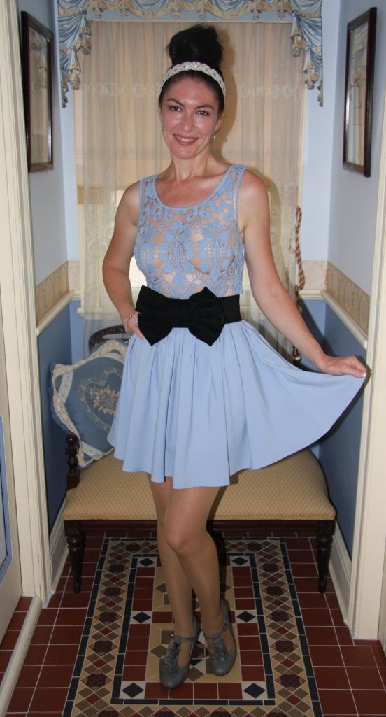 Blue Crochet - Skirt