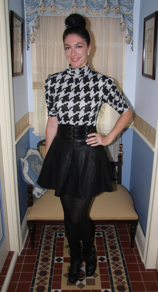 Hard Houndstooth - Front