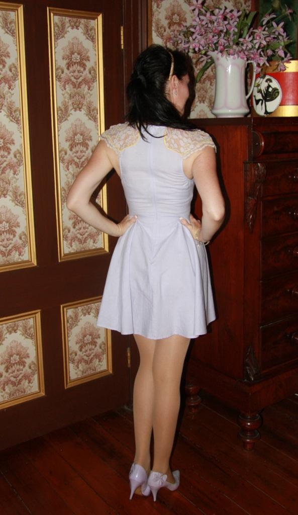 Lilac Lace - Back