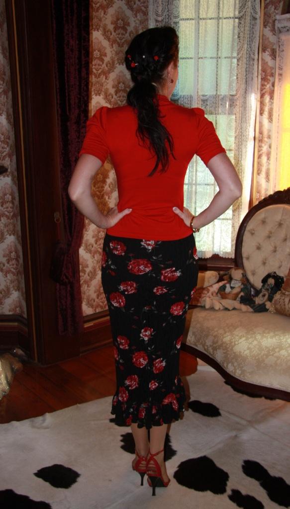La Donna Rose - Back