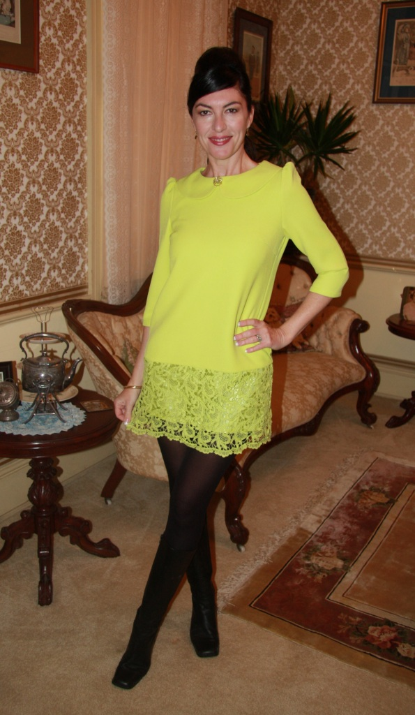 Lime and Lace - Front