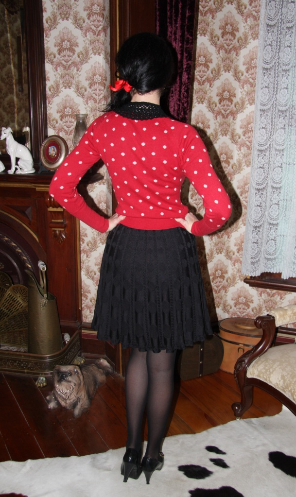 Buttons Bows - Back