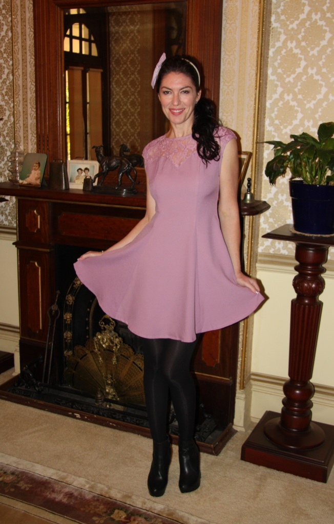 Lady in Lilac - Front