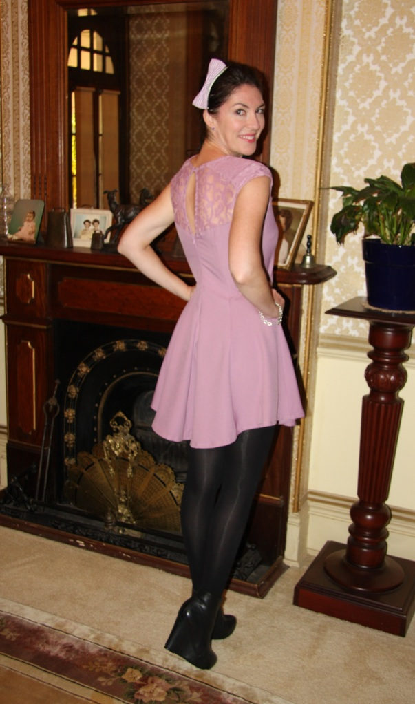 Lady in Lilac - Back