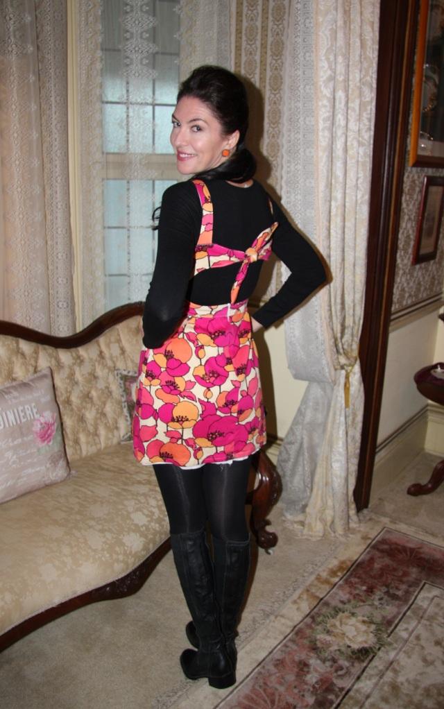 Fuchsia Bright - Back