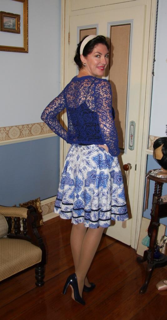 Blissfully Blue - Back
