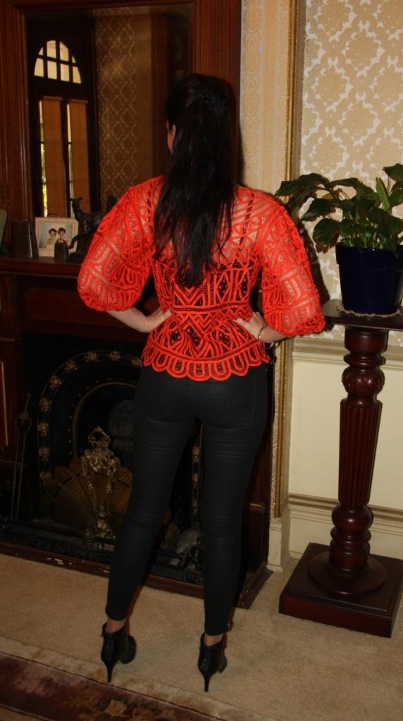 Tangerine Twist - Back