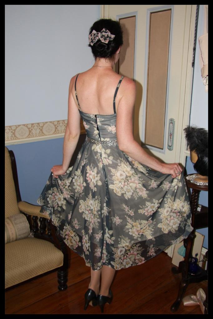 Floral Flare - Back