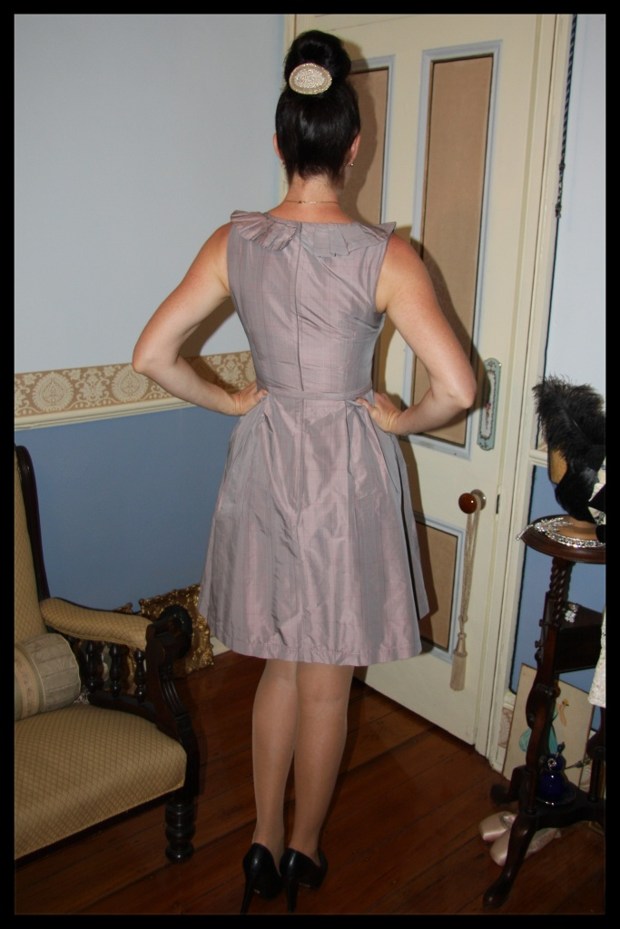 Notched Neckline - Back