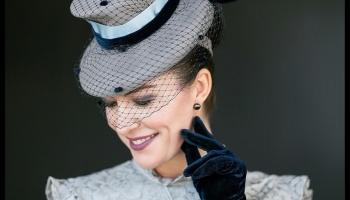 Lady in Lace - Winner Best Dressed - Fashions on the Field - Brisbane Ladies Oaks Day 2017